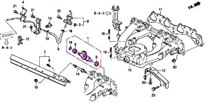 Amazon.com: Genuine Honda 06164-P2A-000 Fuel Injector Set