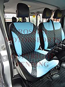 Vauxhall Vivaro Van Seat Covers 2012 Rossini Diamond