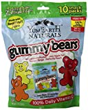 YumEarth Natural Gummy Bears, 10 Count, net wt. 7oz
