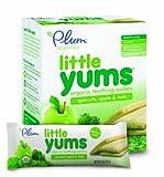 Plum Organics Little Yums, Spinach Apple Kale (6 Count, 0.5 Oz Each)