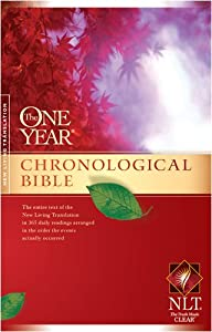 "Cover of ""The One Year Chronological Bibl..."