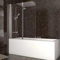 Duschabtrennung Badewanne Duschwand Badewannenfaltwand ...
