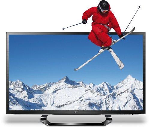 LG 42LM620S 107 cm (42 Zoll) Cinema 3D LED-Backlight-Fernseher, Energieeffizienzklasse A+ (Full-HD, 400Hz MCI, DVB-T/C/S2, Smart TV, HbbTV) schwarz