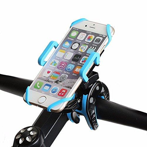 ポータブルオーディオ用車載ホルダ 大型バイクの電話のマウント・ホルダーと堅いゴム・バンドと360度の回転
