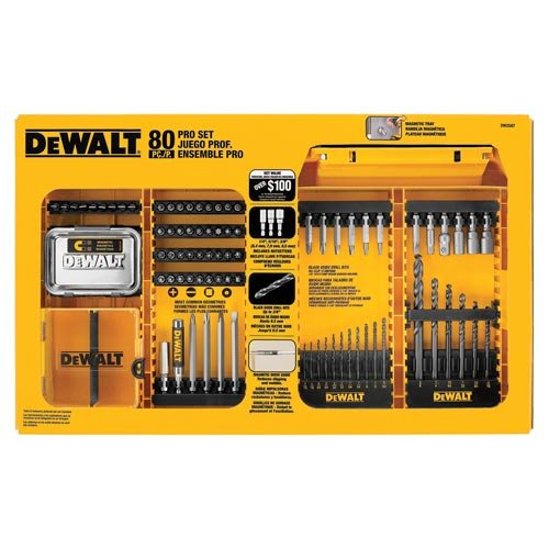 DeWalt bit set 80 piece