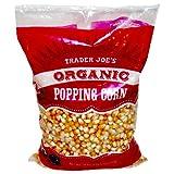Trader Joe's Organic Popping Corn 28 oz ( 1 lb 12 oz )794g