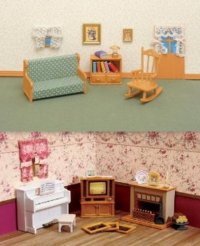 Calico Critters Living Room & Accessories 2 Furniture Sets
