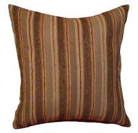 Amazon.com: 26x26 Brown, Orange, and Beige Stripes ...