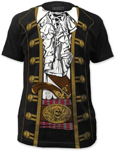Impact Originals Pirate Prince Costume Mens T-shirt M
