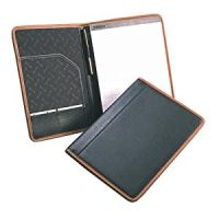 Amazon.com : Samsill Hampton Legal Pad Holder, Leather ...