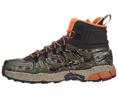 2627989211b4 Nike Men s Zoom MW Posite Black Total Orange Bmb Lgn Green Boot 9.5 Men US