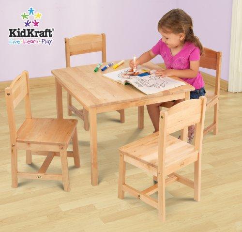 KidKraft Farmhouse Table  Chair Set Furniture Baby