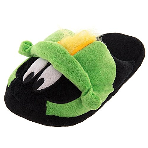 Concept One Women Sizes 6-11 Marvin the Martian Slippers Plush Slip-On S/5-6