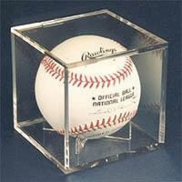 UV Protected Square Ball Holder Display Case Baseball by ...
