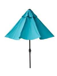 New 9 ft Outdoor Patio Market Umbrella with Auto Tilt and ...