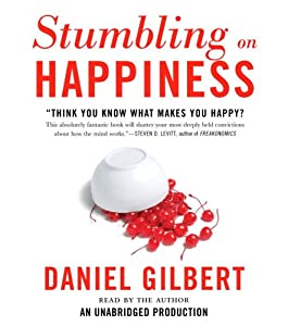 """Cover of """"Stumbling on Happiness"""""""