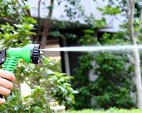 Premium No Kink, Tangle Garden Hose Pipe + Free Tap Hanger ...