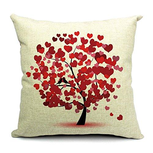 Cuscino cuscini federa arredo casa per salotto per divano pillowcase Albero della Vita 4545Everythingcheap