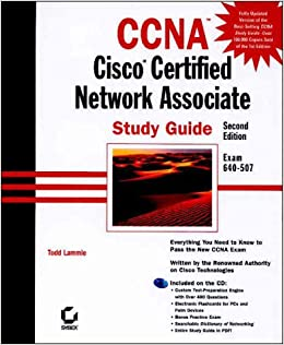 CCNA Cisco Certified Network Associate  Study Guide with CDROM Todd Lammle 9780782126471