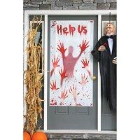 Best Spooky Halloween Zombie Door Covers  Holiday Dcor ...