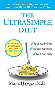"""Cover of """"The UltraSimple Diet: Kick-Star..."""