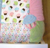 Trend Lab 4 Piece Toddler Bedding Set, Cupcake Furniture ...