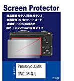 【強化ガラスフィルム 硬度9H 厚さ0.22mm 透明度99%】 Panasonic LUMIX DMC-G8専用 液晶保護ガラス(強化ガラスフィルム)