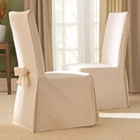 Amazon.com - Sure Fit Cotton Duck Full Dining Room Chair ...