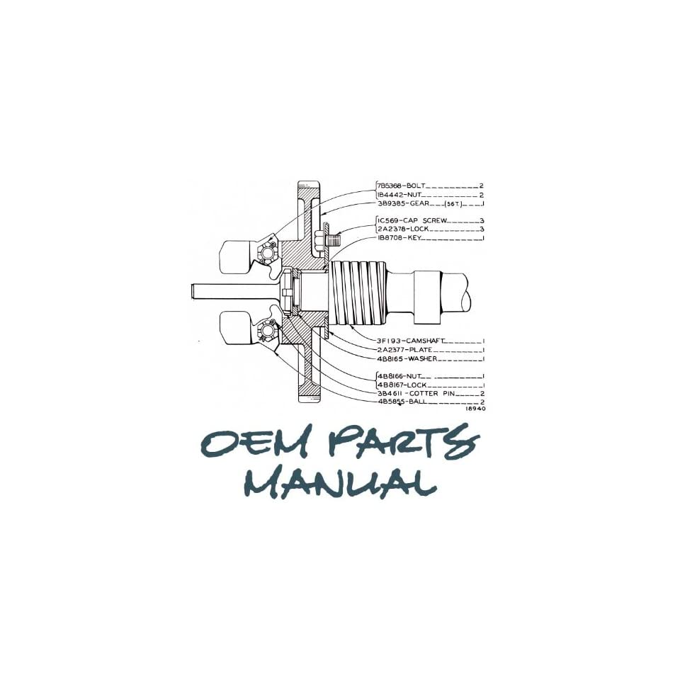John Deere 320 Parts Manual Jensales Ag Products Books on