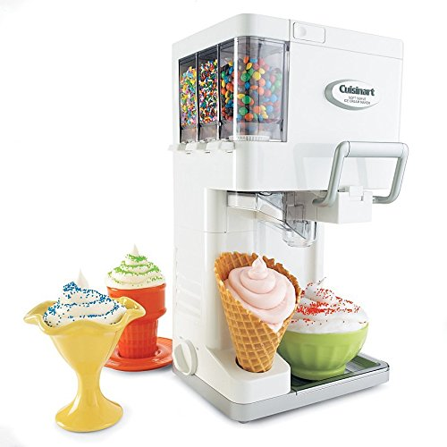 Cuisinart Soft Serve Ice Cream Maker with Fully Automatic