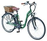 Prophete Damen Alu-Retro-Elektrofahrrad Prophete, smaragdgrün, Rahmenhöhe: 45 cm, Reifengröße: 28 Zoll (71 cm), 2027