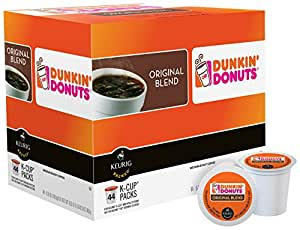 Dunkin Donuts Original Blend KCup Pods 44 Count Amazon