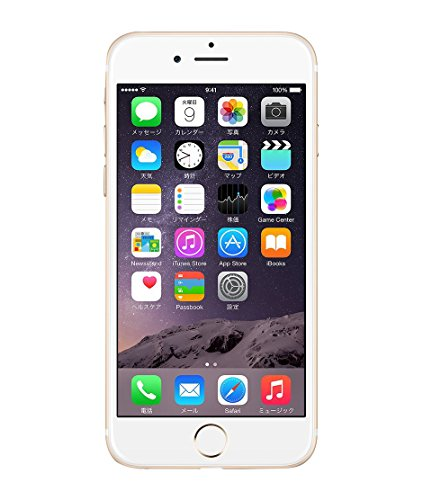 Apple au iPhone6 A1586 MG492J/A 16GB ゴールド