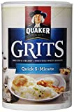 Quaker Quick White Grits Cereal Tube, 1.5 lb