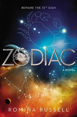 Zodiac by Romina Russell | Featured Book of the Day | wearewordnerds.com