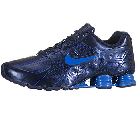 Buy Nike Shox Turbo XII - Mid Navy / Soar-Mid Navy-Mid Navy, 12 D US