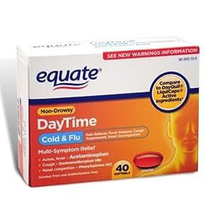 Amazoncom Equate Day Time MultiSymptom ColdFlu