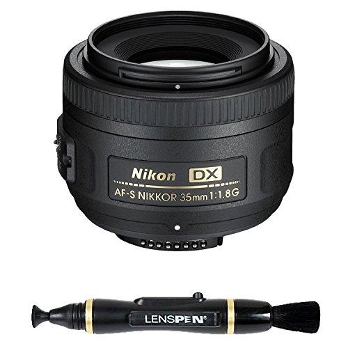 Nikon 35mm f/1.8G Auto Focus-S DX Lens for Nikon Digital SLR Cameras - Fixed