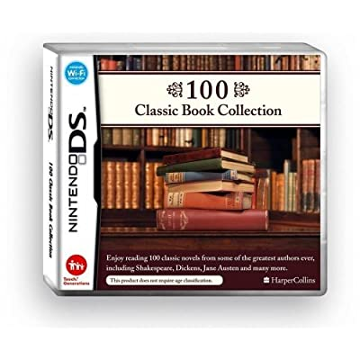 100 Classic Book Collection available on the Nintendo DS on 26 December