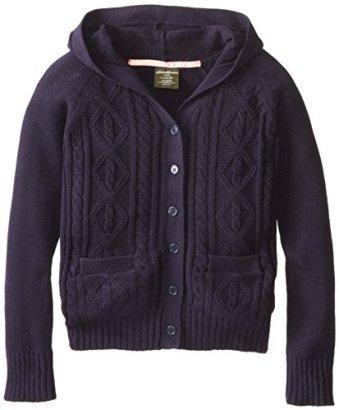 Eddie-Bauer-Big-Girls-V-Neck-Cardigan-Sweater-with-Hood-Navy1012