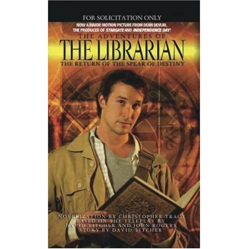 Cover for The Adventures of the Librarian: Quest for the Spear