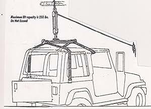 Amazon.com: Jeep Wrangler Hardtop Hoist, Hardtop Removal