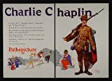 movie poster of Charlie Chaplin in Shoulder Arms