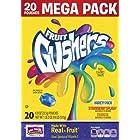 Betty Crocker Fruit Snacks Gushers Snack Mega Pack, 18 Ounce (20 pouches)