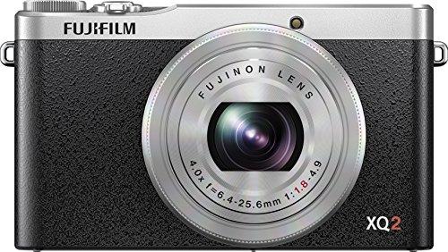 Fujifilm XQ2 Silver Digital Camera with 3-Inch LCD