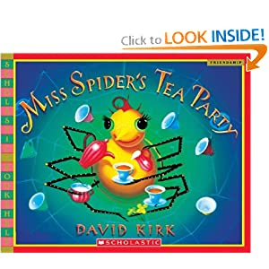 Miss Spider's Tea Party (Scholastic Bookshelf)