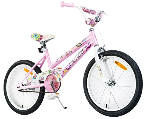 Tauki 20 Inch Girl Bike Kid Bike for Girls, Pink, for 8-14 Years Old