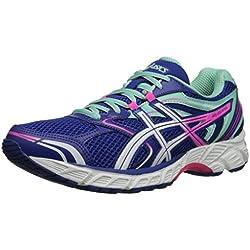 ASICS Women's Gel-equation 8 Running Shoe, Dazzling Blue/White/Hot Pink, 7.5 M US