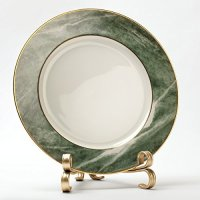 mDesign Decorative Cookbook Holder, Picture Display Easel