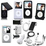 TsirTech 15 Piece iPod classic Accessory Bundle Kit